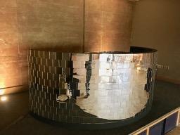 Mirror ball dj booth